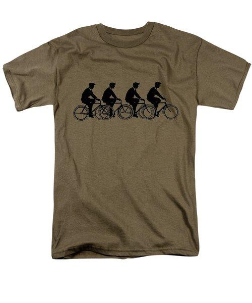 Bicycling T Shirt Design Men's T-Shirt  (Regular Fit)