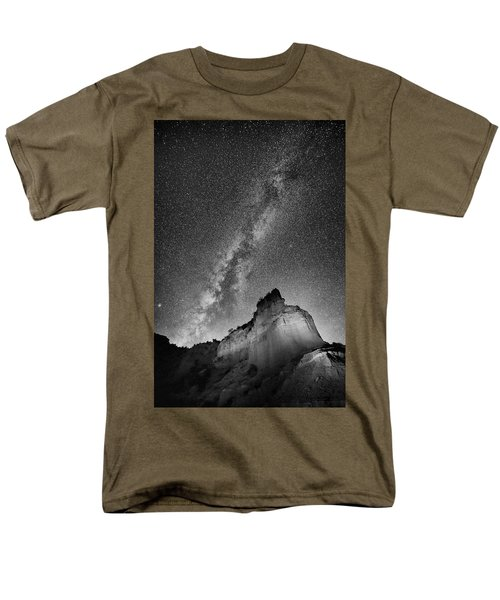 Men's T-Shirt  (Regular Fit) featuring the photograph Big And Bright In Black And White by Stephen Stookey