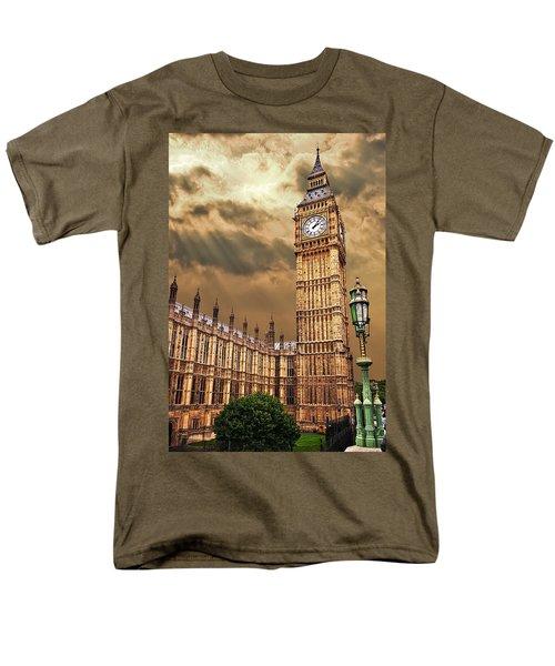 Big Ben's House Men's T-Shirt  (Regular Fit) by Meirion Matthias