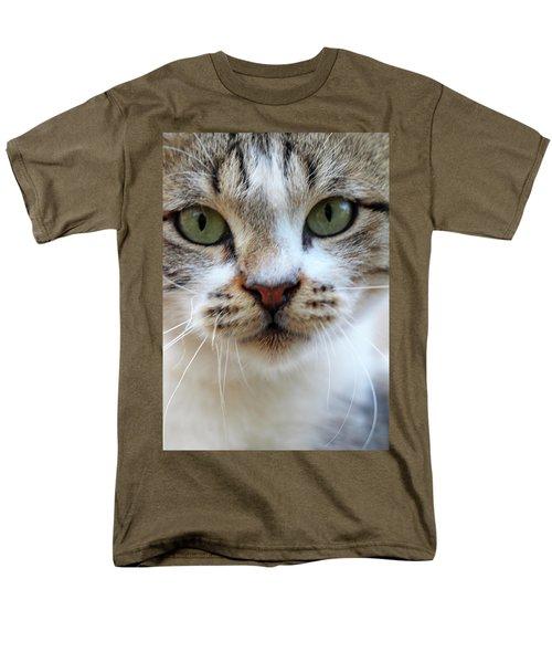 Men's T-Shirt  (Regular Fit) featuring the photograph Big Green Eyes by Munir Alawi