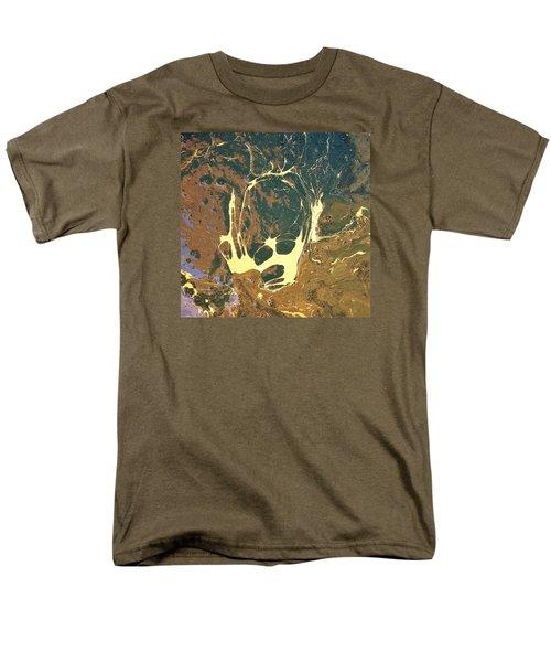 Big Headed Side Rocket Men's T-Shirt  (Regular Fit) by Gyula Julian Lovas