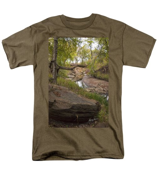 Big Stone Creek Men's T-Shirt  (Regular Fit) by Ricky Dean