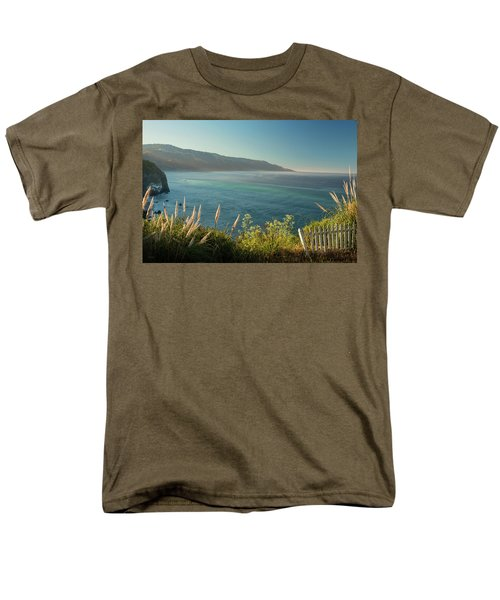 Men's T-Shirt  (Regular Fit) featuring the photograph Big Sur At Lucia, Ca by Dana Sohr