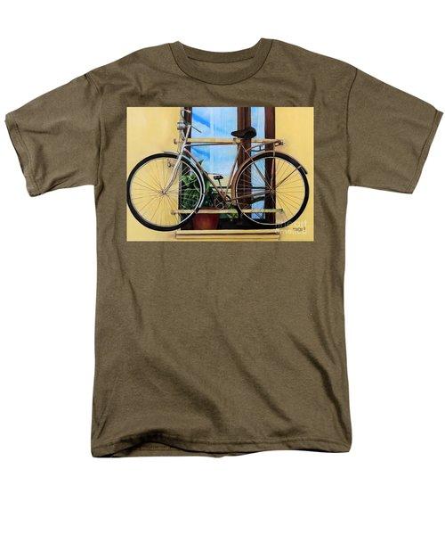 Bike In The Window Men's T-Shirt  (Regular Fit)