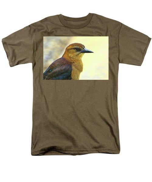 Men's T-Shirt  (Regular Fit) featuring the photograph Bird Beauty by Deborah Benoit