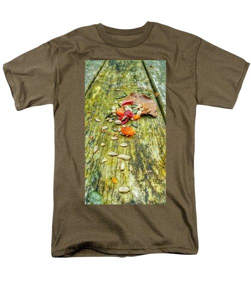 Bird Food Men's T-Shirt  (Regular Fit)