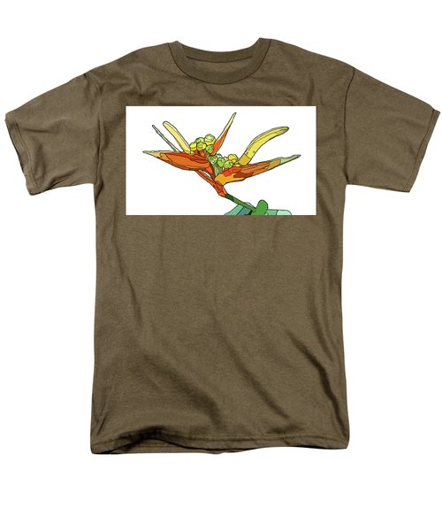 Bird Of Paradise Men's T-Shirt  (Regular Fit) by Jamie Downs