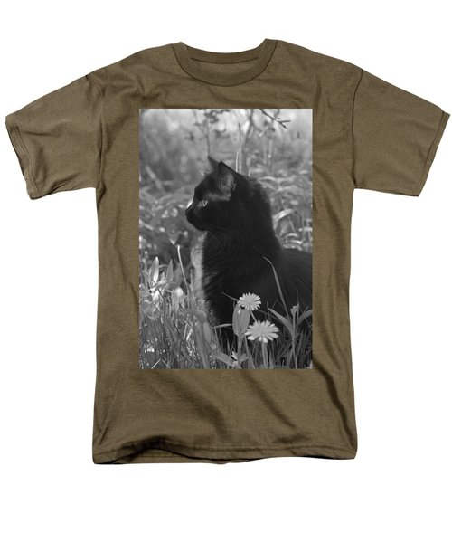 Bird Watching Men's T-Shirt  (Regular Fit) by Karon Melillo DeVega