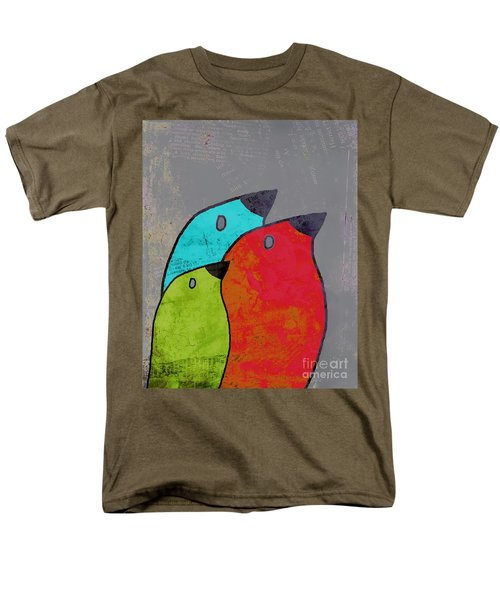 Birdies - V11b Men's T-Shirt  (Regular Fit) by Variance Collections