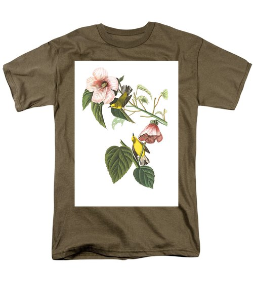 Men's T-Shirt  (Regular Fit) featuring the photograph Birds Chat by Munir Alawi