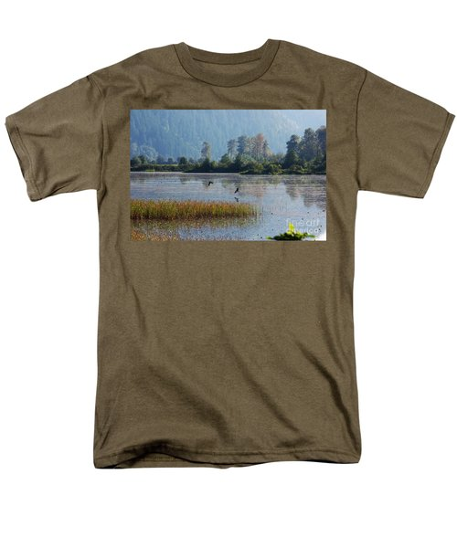 Birds Paradise Men's T-Shirt  (Regular Fit) by Victor K