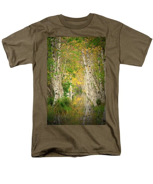 Men's T-Shirt  (Regular Fit) featuring the photograph Birtch Row  by Emmanuel Panagiotakis