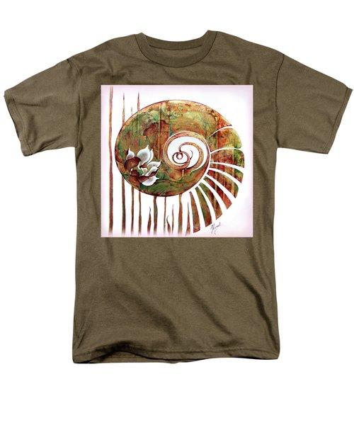 Birth Of Lotus Land Men's T-Shirt  (Regular Fit) by Anna Ewa Miarczynska