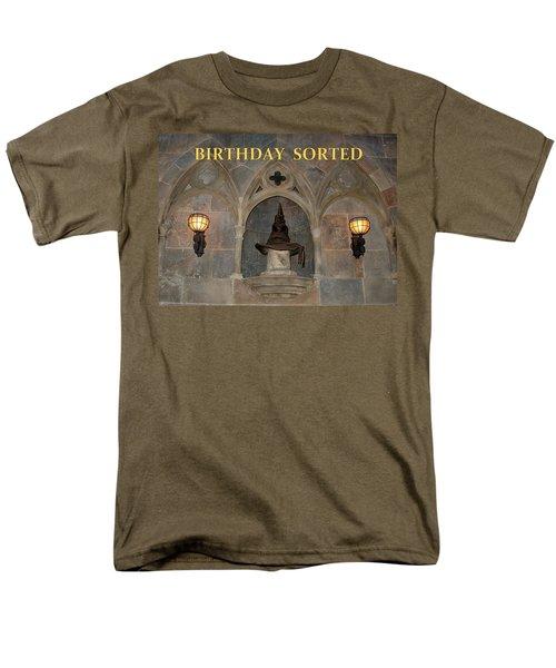 Birthday Sorted Men's T-Shirt  (Regular Fit) by David Nicholls