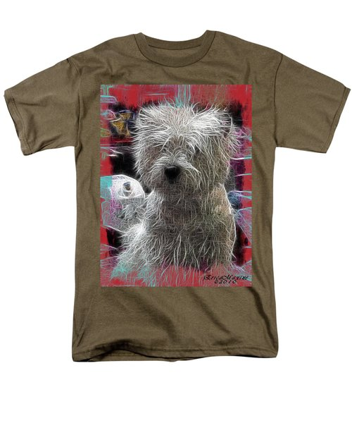 Men's T-Shirt  (Regular Fit) featuring the photograph Bishon Frise by EricaMaxine  Price