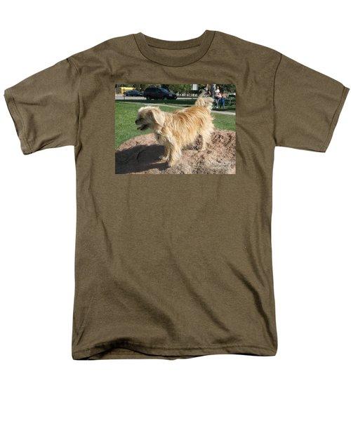 Bits On The Rocks Men's T-Shirt  (Regular Fit)
