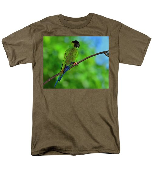 Men's T-Shirt  (Regular Fit) featuring the photograph Black And Blue by Tony Beck