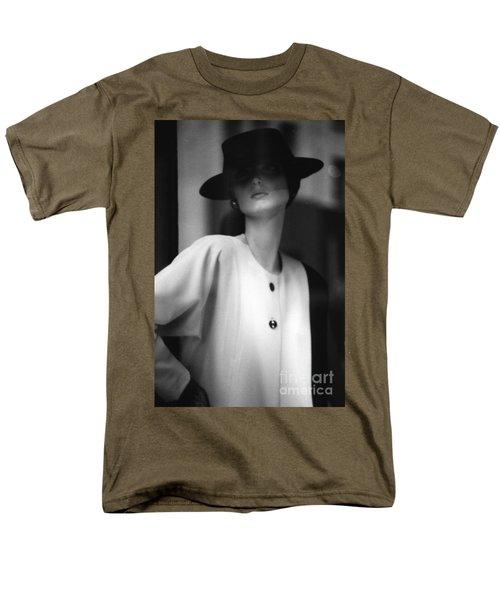 Black And White Men's T-Shirt  (Regular Fit) by Steven Macanka