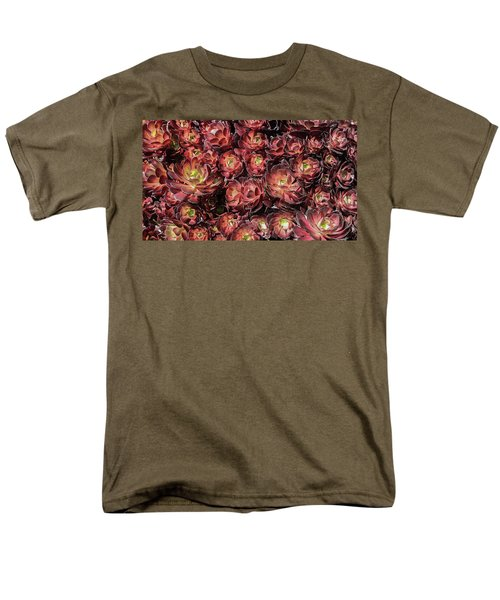 Black Roses Men's T-Shirt  (Regular Fit) by Mark Barclay