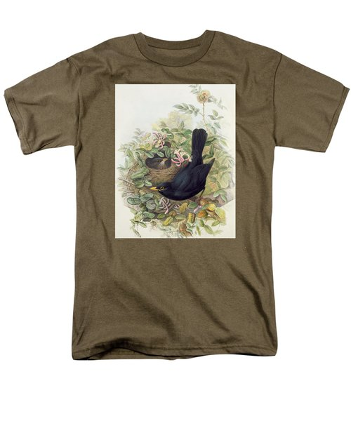 Blackbird,  Men's T-Shirt  (Regular Fit) by John Gould