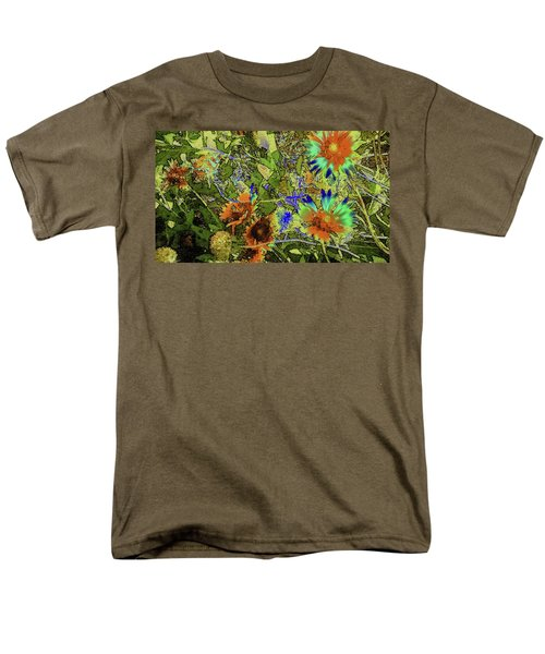 Men's T-Shirt  (Regular Fit) featuring the photograph Blanket Flower II by Donna G Smith