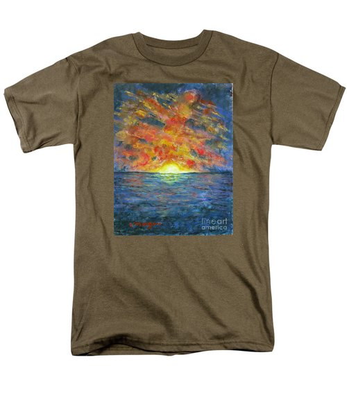 Blazing Glory Men's T-Shirt  (Regular Fit) by Laurie Morgan
