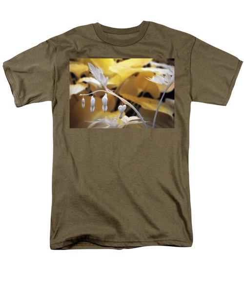 Bleeding Heart Gld Men's T-Shirt  (Regular Fit) by Paul Seymour