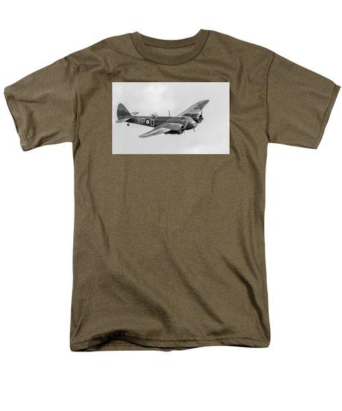 Blenheim Mk I Black And White Version Men's T-Shirt  (Regular Fit) by Gary Eason