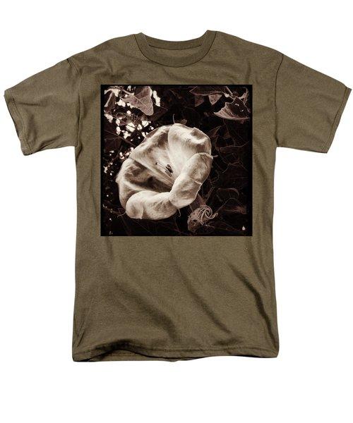 Bloom In Sepia Men's T-Shirt  (Regular Fit)