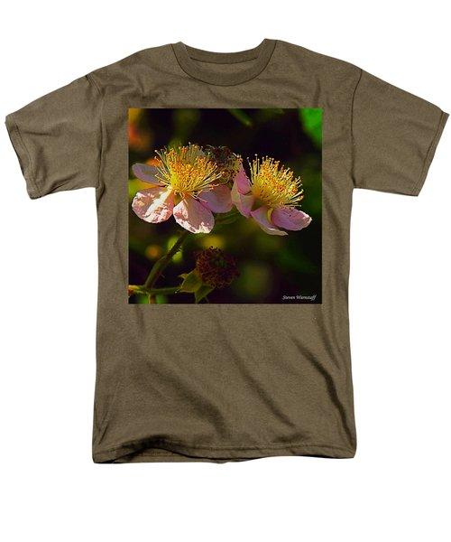 Blossoms.1 Men's T-Shirt  (Regular Fit) by Steve Warnstaff