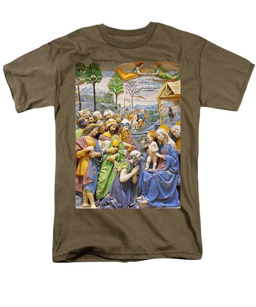 Men's T-Shirt  (Regular Fit) featuring the photograph Blue And Yellow by Munir Alawi