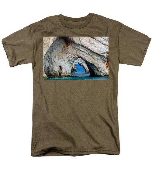 Blue Caves 2 Men's T-Shirt  (Regular Fit) by Rainer Kersten