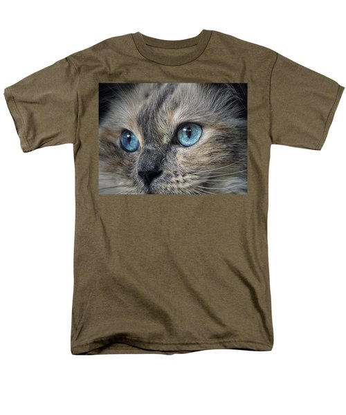 Blue Eyed Girl Men's T-Shirt  (Regular Fit) by Karen Stahlros
