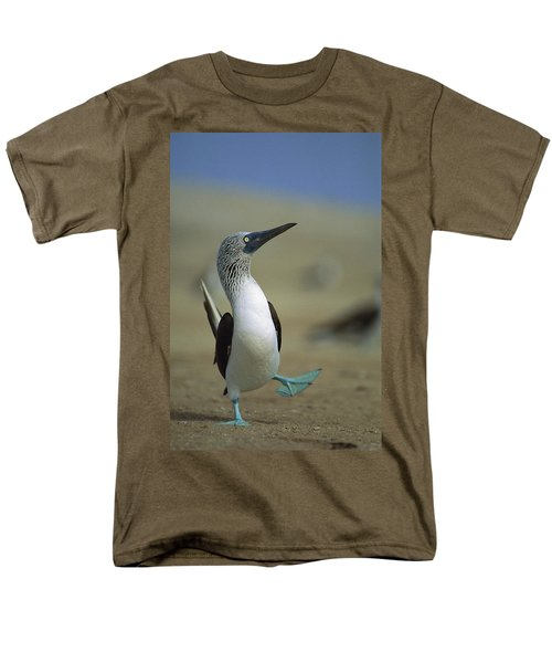 Blue-footed Booby Sula Nebouxii Men's T-Shirt  (Regular Fit) by Tui De Roy