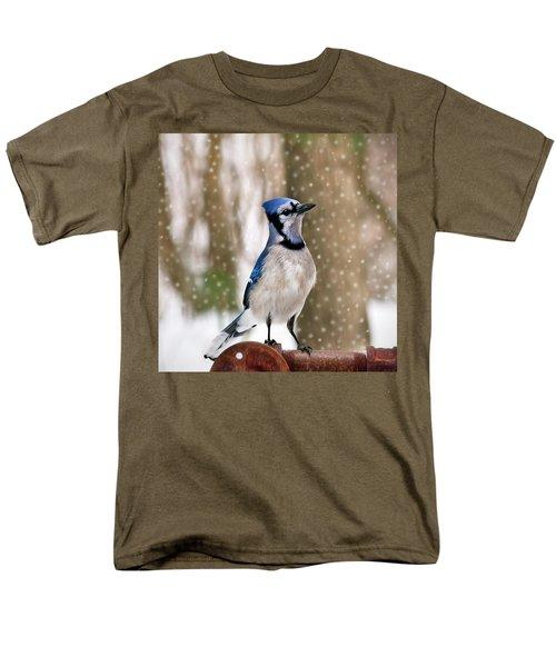 Blue For You Men's T-Shirt  (Regular Fit) by Evelina Kremsdorf