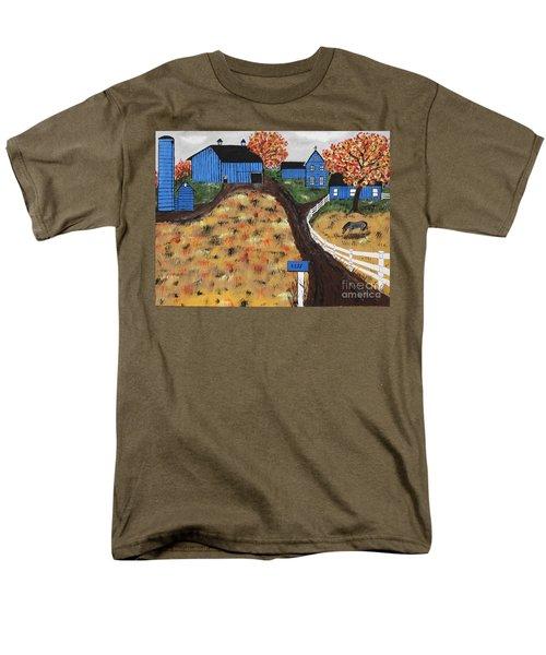Blue Mountain Farm Men's T-Shirt  (Regular Fit)