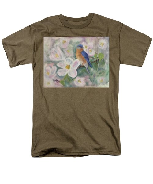 Bluebird Vignette Men's T-Shirt  (Regular Fit)