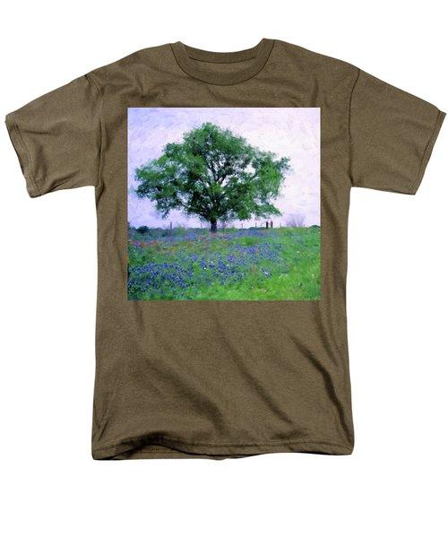 Bluebonnet Tree Men's T-Shirt  (Regular Fit)