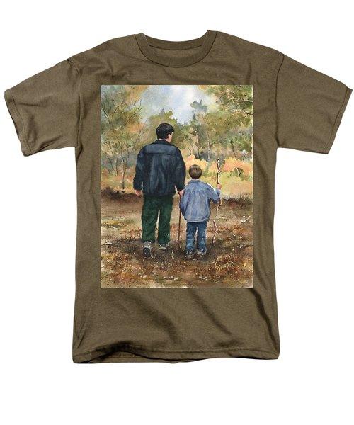 Bob And Alex Men's T-Shirt  (Regular Fit)