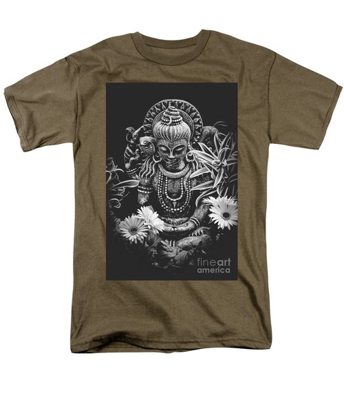 Men's T-Shirt  (Regular Fit) featuring the photograph Bodhisattva Parametric by Sharon Mau