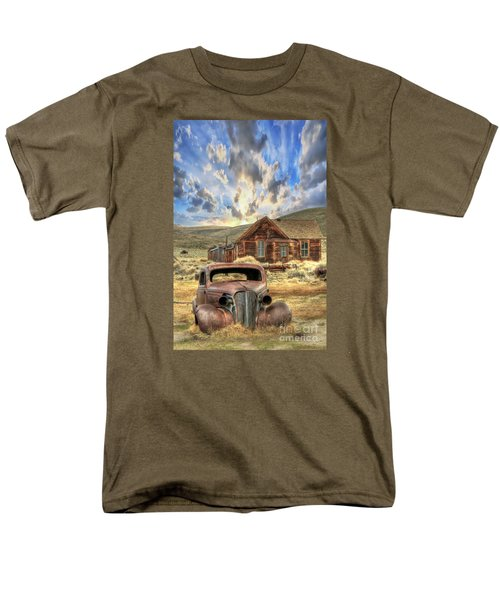 Bodie Ghost Town Men's T-Shirt  (Regular Fit) by Benanne Stiens
