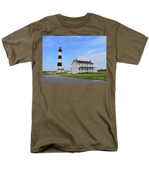 Bodie Island Lighthouse Men's T-Shirt  (Regular Fit) by Shelia Kempf