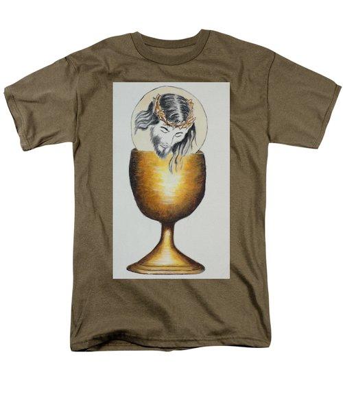 Body, Blood, Soul And Divinity Men's T-Shirt  (Regular Fit)