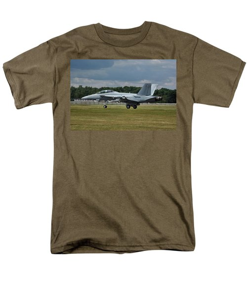 Men's T-Shirt  (Regular Fit) featuring the photograph Boeing Super Hornet  by Tim Beach