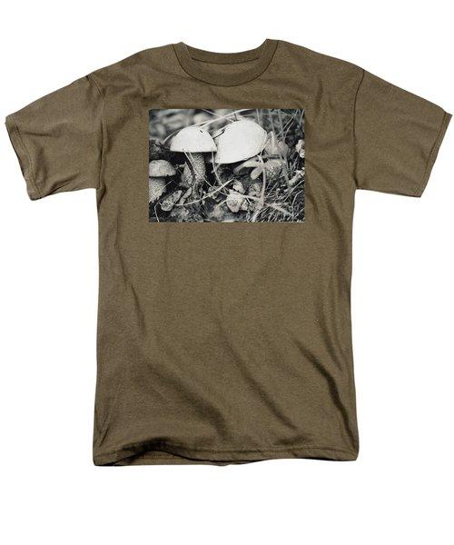 Men's T-Shirt  (Regular Fit) featuring the photograph Boletus Mushrooms by Juls Adams