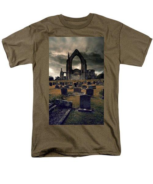 Bolton Abbey In The Stormy Weather Men's T-Shirt  (Regular Fit) by Jaroslaw Blaminsky