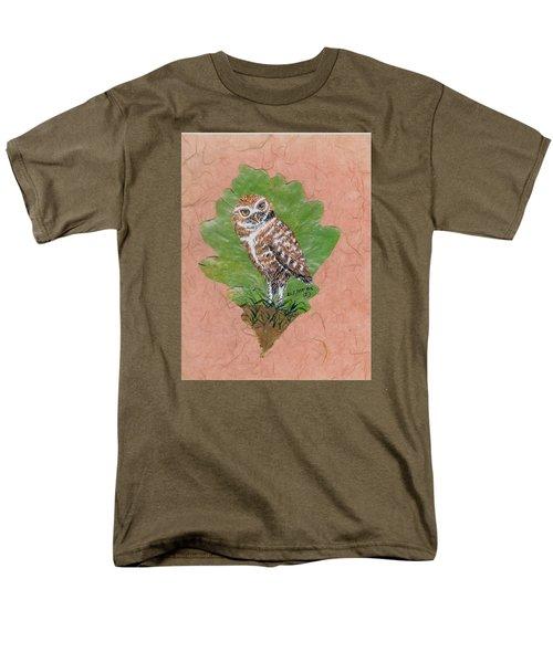 Borrowing Owl Men's T-Shirt  (Regular Fit) by Ralph Root