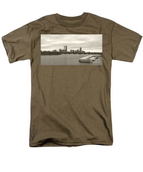 Boston View Men's T-Shirt  (Regular Fit) by Raymond Earley