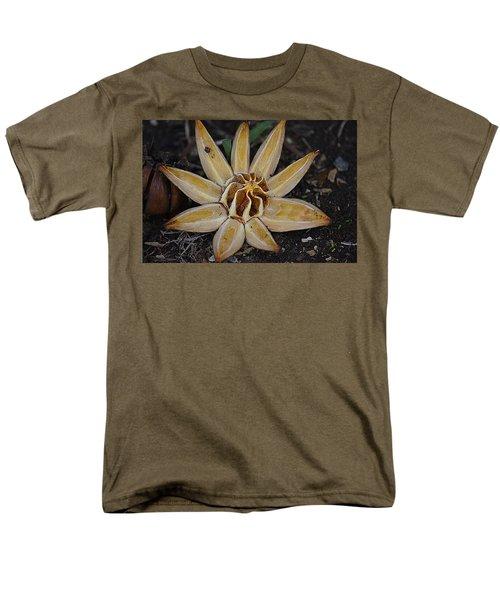 Botanical Garden Seed Pod Men's T-Shirt  (Regular Fit) by Lori Seaman