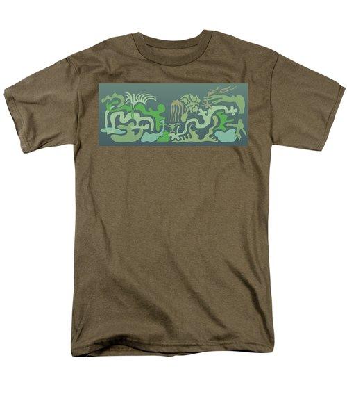 Botaniscribble Men's T-Shirt  (Regular Fit) by Kevin McLaughlin